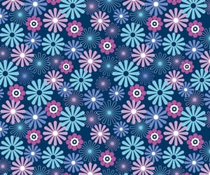 flowers, background, and blue image