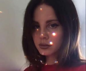 lana, aesthetic, and red image
