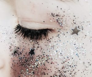 glitter, aesthetic, and stars image