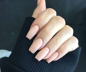 nails, Nude, and jenner image