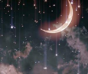 cielo, universo, and estrellas image