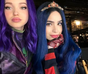 sofía carson, dove cameron, and descendants image