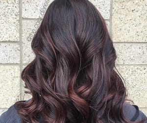 black hair, cherry, and hairstyle ideas image