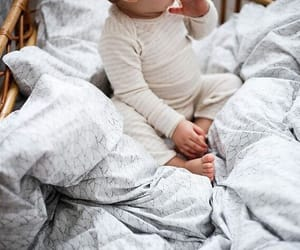 babies, bed, and bedding image