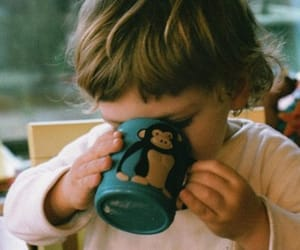 cup, child, and children image