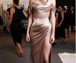 fashion, celebrity dress, and Couture image