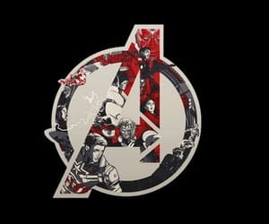 Avengers, black, and header image