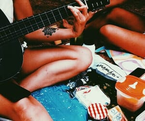 instrument, music, and summer image