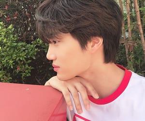 boy, Hot, and kai exo image