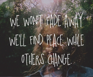 change and peace image
