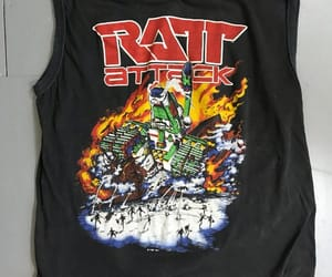80s, rock and roll, and t shirt image