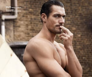 David Gandy, Hot, and physique image