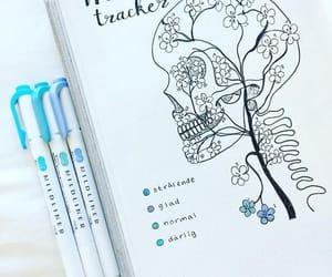 journal and mood image