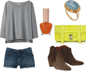 girl, neon, and Isabel marant image
