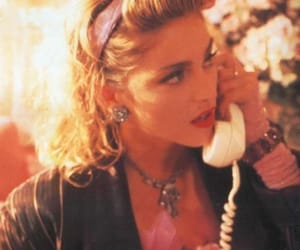 1980s, 80s, and madonna image
