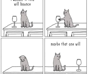cartoon, funny cats, and cat image