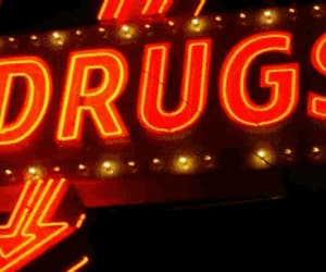 drugs, neon, and light image
