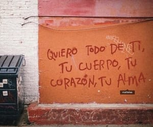 love, heart, and español image