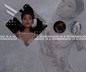 aesthetic, sweetener, and god is a woman image