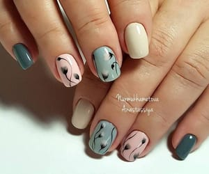 art, beautiful, and nail image