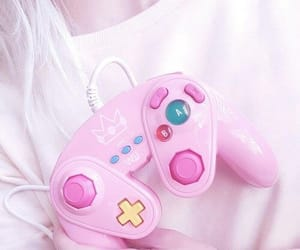 pink, game, and pastel image