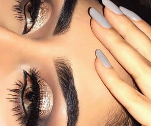 blending, eyeliner, and nails image