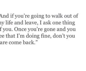 breakup, quote, and love image
