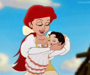 ariel, gif, and melody image