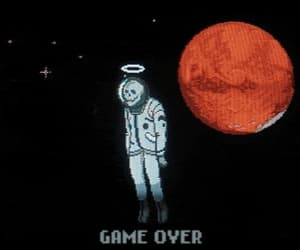 game over, dead, and grunge image