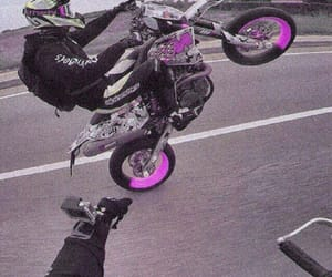 cool, motorcycle, and purple image