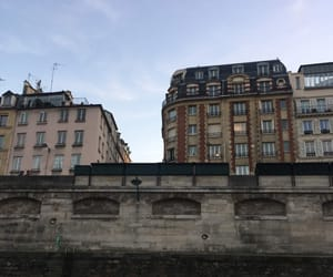 appartment, Seine, and sky image
