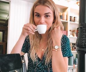 blondie, coffee, and dress image