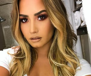 demi lovato, singer, and beauty image