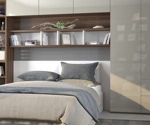 bedroom, furniture, and london image