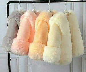 coat, furry, and girly image