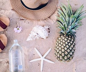 aesthetic, summer, and ananas image