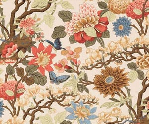 antique, blossom, and butterfly image