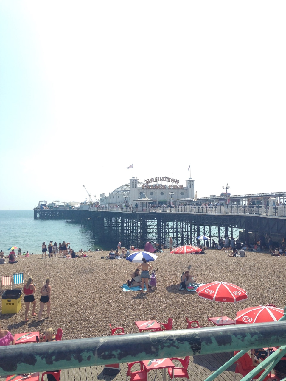 aesthetic, beach, and pier image