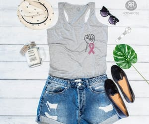 etsy, cancer survivor, and womens tank top image