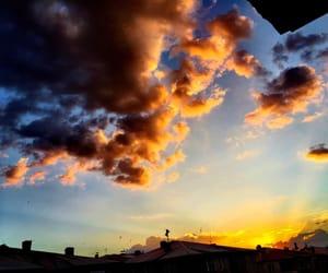 black, night, and sky image