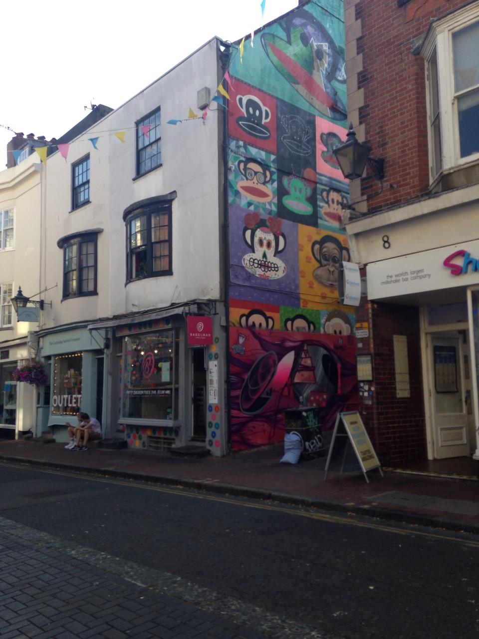 alternative, brighton, and graffiti image