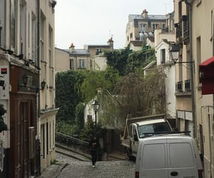 apartments, door, and france image