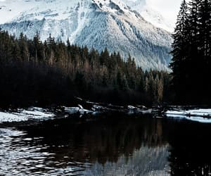 goals, mountains, and nature image