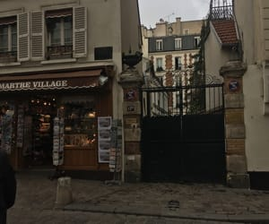 cloudy, gate, and paris image