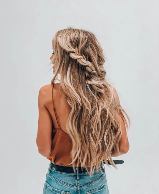 article, hair, and tangled hair image