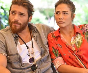 Can Yaman and Demet Ozdemir in Early Bird main cast
