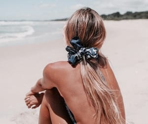 beach, fashion, and holiday image