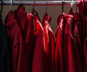 red and clothes image