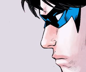 batgirl, dick grayson, and dickbabs image