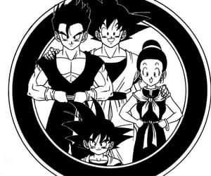 anime, dbs, and noir et blanc image
